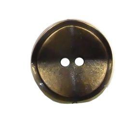 Nasturi cu Patru Gauri (100 bucati/punga)Cod: 297354/32 Nasturi Plastic Metalizati, Marime 28, Antic Brass (100 buc/pachet) Cod: JU870
