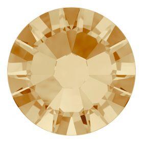 Cristale de Lipit 2078, Marimea: SS16, Culoare: Jet (144 buc/pachet)  Cristale de Lipit 2078, Marimea: SS34, Culoare: Light Colorado Topaz (144 buc/pachet)