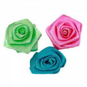 Oferte Aplicatii de Cusut, Model Trandafir, lungime 3.5 cm (100 buc/pachet)