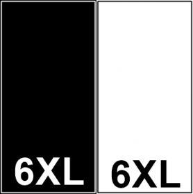 Etichetare Etichete Tesute Marime: 6XL (250 bucati/pachet)