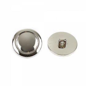 Nasture Plastic Metalizat JU895/32 (100 buc/punga) Nasturi Metalizati, cu Picior, din Plastic 15mm (100 bucati/pachet) Cod: 2122