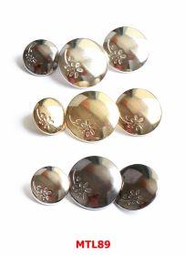 Nasturi Metalici Nasturi Metalici cu Picior MTL89/40 (50 bucati/pachet)