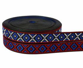 Banda Decorativa, Ripsata, Bias Pasmanterie, latime 25 mm (25 metri/rola)Cod: STANCA