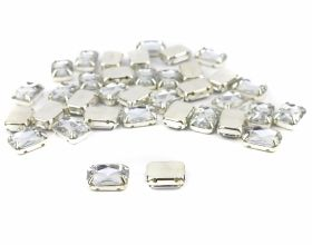Strasuri Sew-on Crystals, Size 6x8 mm (100 pcs/pack)Code: R11785