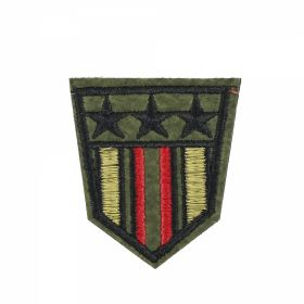 Embleme Adezive, Termoadezive, Decorative Embleme Termoadezive, 5.2x6.8 cm (12 buc/pachet) Cod: EMB15