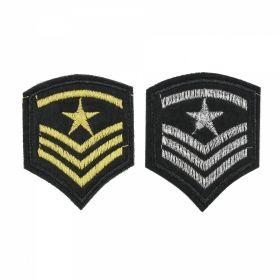 Embleme Adezive, Termoadezive, Decorative Embleme Termoadezive, 5.2x6.5 cm (12 buc/pachet) Cod: EMB03