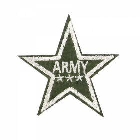 Embleme Adezive, Termoadezive, Decorative Embleme Termoadezive,Stea, 6.8x7 cm (12 buc/pachet) Cod: EMB14