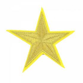 Embleme Adezive, Termoadezive, Decorative Embleme Termoadezive,Stea, 7x6.8 cm (12 buc/pachet) Cod: EMB02
