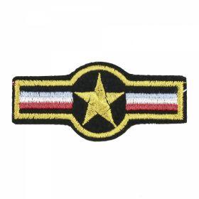 Embleme Adezive, Termoadezive, Decorative Embleme Termoadezive, 7.5x3.5 cm (12 buc/pachet) Cod: EMB13