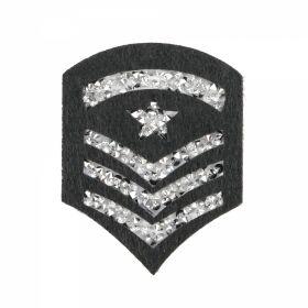 Embleme Adezive, Termoadezive, Decorative Embleme Termoadezive cu Strasuri, 5.6x7.2x0.3 cm (12 buc/pachet) Cod: EMB05