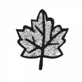Embleme Adezive, Termoadezive, Decorative Embleme Termoadezive cu Strasuri, 7.3x8.4 cm (12 buc/pachet) Cod: EMB07