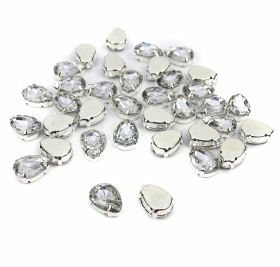 Strasuri Sew-on Crystals, Size 13x18 mm (100 pcs/pack)ode: R11783