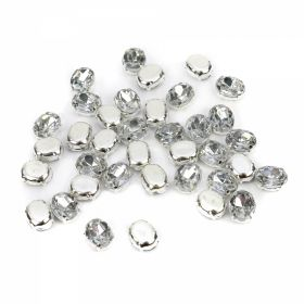 Strasuri Sew-on Crystals, Size 6x8 mm (100 pcs/pack)Code: R11784