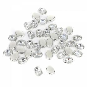 Strasuri Sew-on Crystals, Size 10x14 mm (100 pcs/pack)Code: R11784