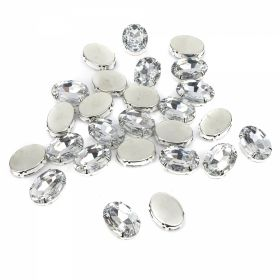 Strasuri Sew-on Crystals, Size 18x25 mm (100 pcs/pack)Code: R11784