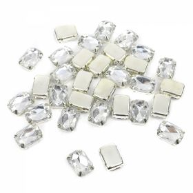 Strasuri Sew-on Crystals, Size 10x14 mm (100 pcs/pack)Code: R11785
