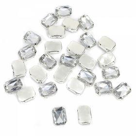 Strasuri de Cusut R11640, Marime: 16 mm, Culoare: 12 (100 buc/punga) Strasuri de Cusut in Montura Metalica, 13x18 mm (100 buc/punga)Cod: R11785