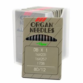 Ace Organ Industrial Sewing Machine Needles (100 pcs/box), Code: ORG1738