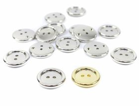Nasturi din Plastic Two-Holes Buttons, size 28 mm (144 pcs/pack) Code: 57472/28MM
