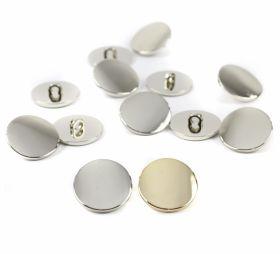 Nasturi cu Picior Nasturi Plastic cu Picior, Marime 21 mm (144 bucati/pachet)Cod: 59050/21MM