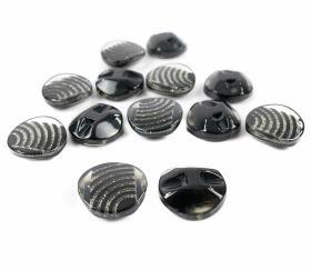 Oferte Nasturi Plastic cu Picior, Marime 36L (288 bucati/pachet)Cod: 0311-1729/36