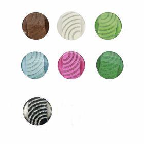 Nasturi cu Picior Y10815, 15mm (100 buc/pachet) Nasturi Plastic cu Picior, Marime 44L (25 bucati/pachet)Cod: 0311-1729/44