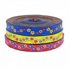 Banda Decorativa, Ripsata, Bias Banda Decorativa , latime 16 mm (25 metri/rola)Cod: ALEXIA