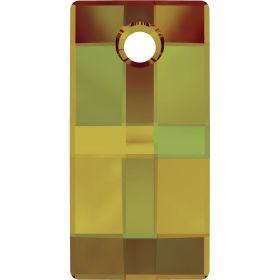 Inel Swarovski, Marimea: 18.5, Culoare: Light Siam (1 bucata)Cod:185001-18.5 Pandantiv Swarovski, 30 mm, Culoare: Crystal Tabac (1 bucata) Cod: 6696-30CRABPP
