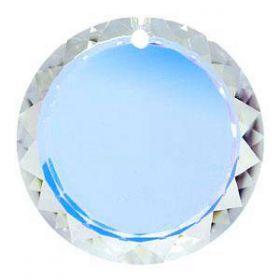 Oferta la 7 Lei + TVA Pandantiv Swarovski, 20 mm, Culoare: Crystal-AB (1 bucata) Cod: 6049-MM20