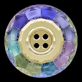 Swarovski Crystals Nasturi Swarovski, 18 mm, Culoare: Crystal Paradise Shinie(1 bucata)Cod: 3008