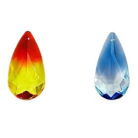 Swarovski Crystals Pandantiv Swarovski, 24x12 mm, Diferite Culori (1 bucata)Cod: 6100-MM24x12