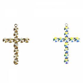 Cristale de Cusut Swarovski, Marime: 8 mm, Diferite Culori (14 buc/pachet)Cod: 3204 Pandantiv Swarovski, 34x50 mm, Diferite Culori (1 bucata)Cod: 14221