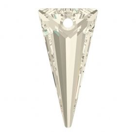 Swarovski Crystals Pandantiv Swarovski, 39 mm, Culori: Crystal Silver Shade (1 bucata)Cod: 6480