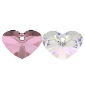 Cristale de Cusut Swarovski, Marime: 8 mm, Diferite Culori (14 buc/pachet)Cod: 3204 Pandantiv Swarovski, 27 mm, Diferite Culori (1 bucata)Cod: 6260-MM27