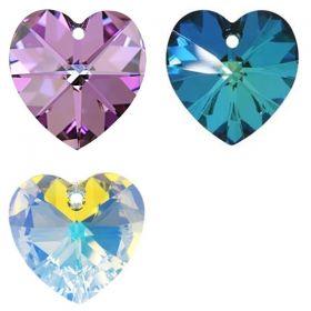 Cristale de Cusut 3200, Marime: 10mm, Culoare: Jet Nut (1 bucata)  Pandantiv Swarovski, 10.3x10 mm, Diferite Culori (1 bucata)Cod: 6228