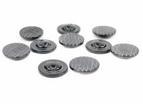Nasturi cu Picior S633, Marimea 34 (100 buc/pachet)  Nasturi Plastic cu Picior, Marime 48 Lin (100 bucati/pachet)Cod: 06-273