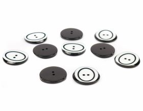 Nasturi din Plastic 2 Holes Buttons 0315-2019/44 (100 pcs/bag)
