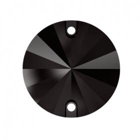 Swarovski Cristale de Cusut 3200, Marime: 10mm, Culoare: Jet Nut (1 bucata)