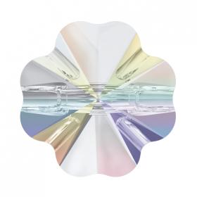 Cristale de Cusut Swarovski, 18x13 mm, Culori: Crystal (1 bucata)Cod: 3250 Nasturi Swarovski, 12 mm, Culori: Crystal AB (1 bucata)Cod: 3011