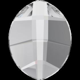 Cristale de Cusut Swarovski, 12.5x13.6 mm, Culoare: Crystal (1 bucata)Cod:  3708 Cristale de Lipit Swarovski, 14x11 mm, Culori: Crystal (1 bucata)Cod: 2204