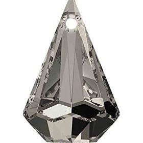 Swarovski Pandantiv Swarovski, 14 mm, Culoare: Crystal Satin (1 bucata)Cod: 6022-MM14