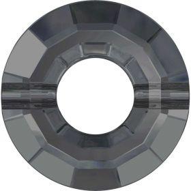 Pandantiv Swarovski, 20 mm, Culoare: Crystal (1 bucata)Cod: 6704-MM20 Margele Swarovski, 12.5 mm, Culori: Crystal Silver Night (1 bucata)Cod: 5139