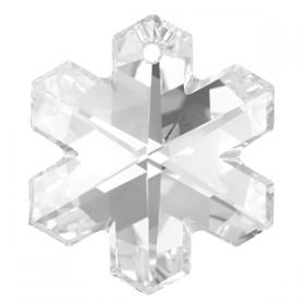 Cristale de Cusut Swarovski, 25x18 mm, Culori: Jet (1 bucata)Cod: 3250 Pandantiv Swarovski, 25 mm, Culoare: Crystal (1 bucata)Cod: 6704-MM25