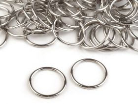 Accesorii Metal Inele Metalice Decorative, diametru 25 mm (10 buc/pachet) Cod: 750505