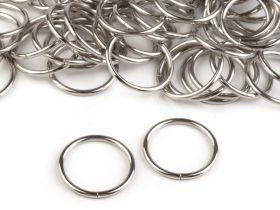 Tub Metalic Decorativ, Rotund, lungime 35 mm (10 bucati/set ) Inele Metalice Decorative, diametru 25 mm (10 buc/pachet) Cod: 750505