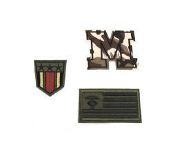 Embleme Termoadezive Petic Jeans (10 bucati/pachet) Cod: 740371 Embleme Termoadezive Army (12 buc/pachet) Cod: 390991