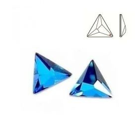 Cristale de Cusut Swarovski, 25x18 mm, Culori: Jet (1 bucata)Cod: 3250 Cristale de Lipit, Marimea: MM25, Bermuda Blue (1 buc/pachet)Cod: 2721