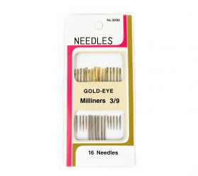 Ace de Cusut Sewing Needles (4 sets/box), Code: F300