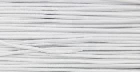 Croitorie Elastic Rotund, Ø 3 mm (250 metri/rola)ALB-ideal pentru masti