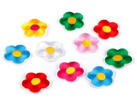 Embleme Termoadezive (12 bucati/pachet)Cod: M8050  Embleme Termoadezive Floare (10 bucati/pachet)Cod: 390561